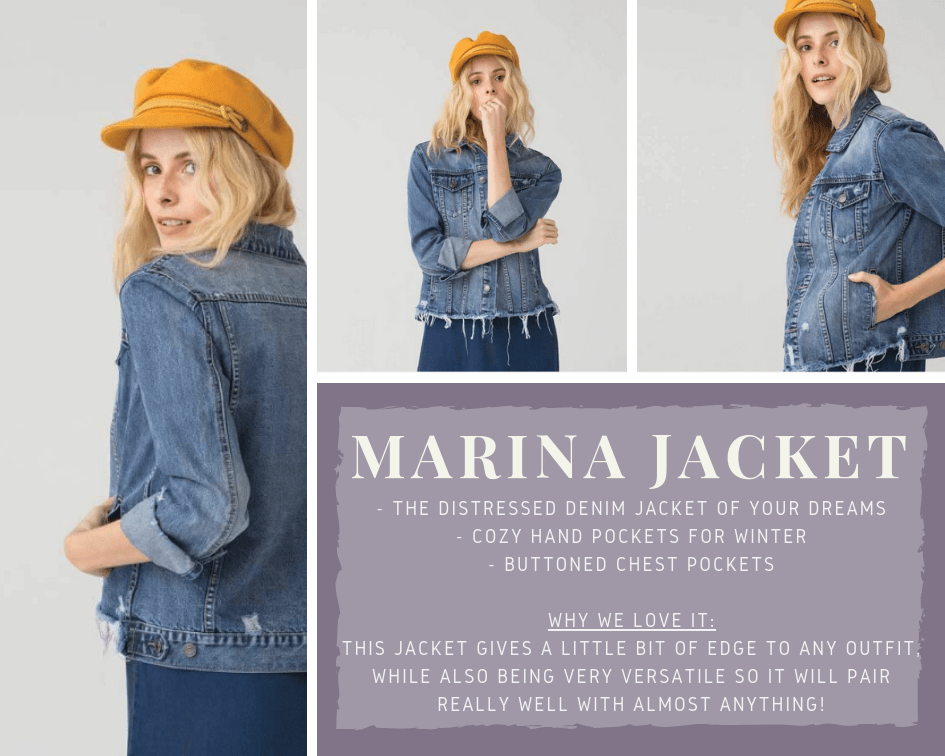 Marina Denim Jacket