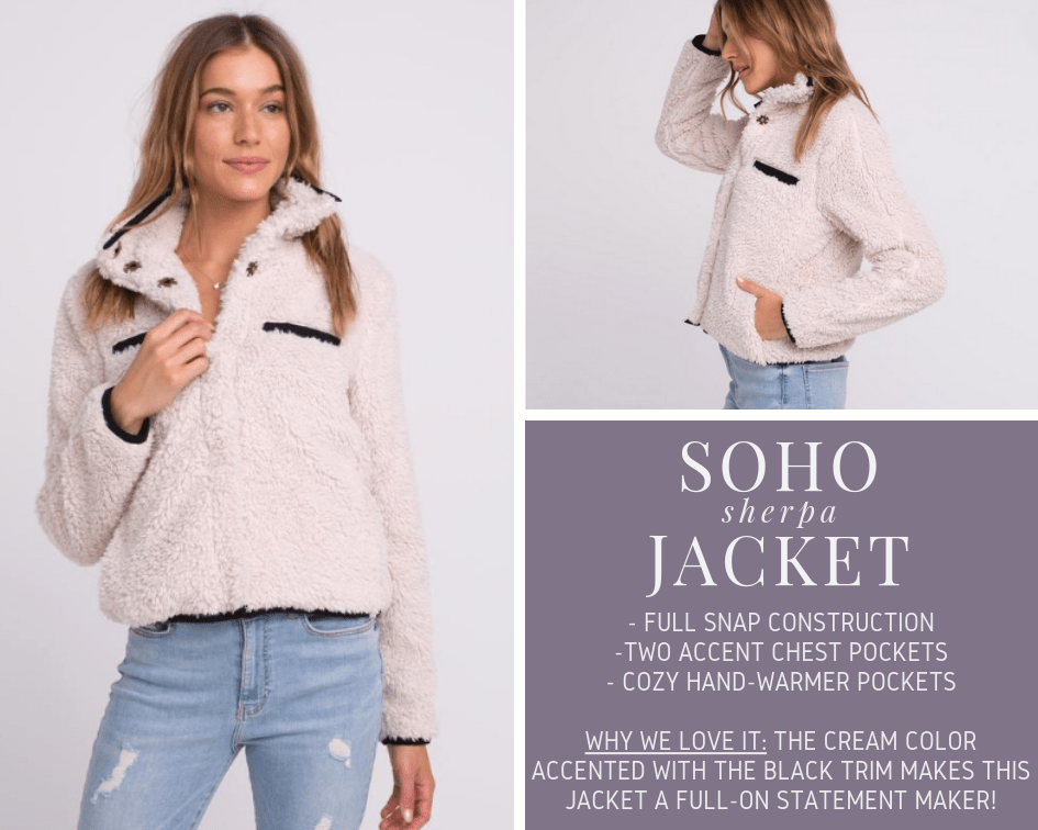 Soho Sherpa Jacket