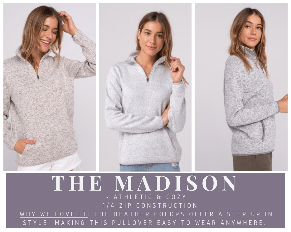 The Madison Pullover