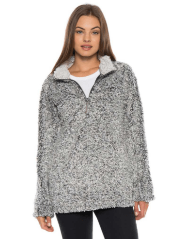 what kind of sherpa pullover should I get