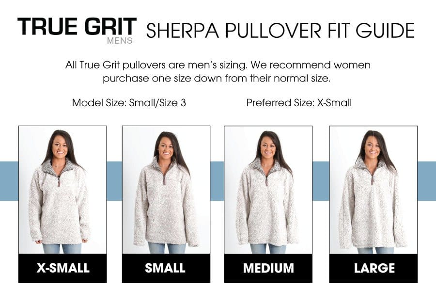how to sherpa pullovers fit?