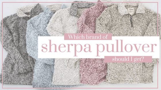 Which brand of sherpa pullover should I get