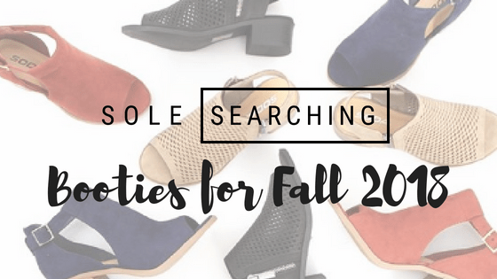 booties for fall 2018