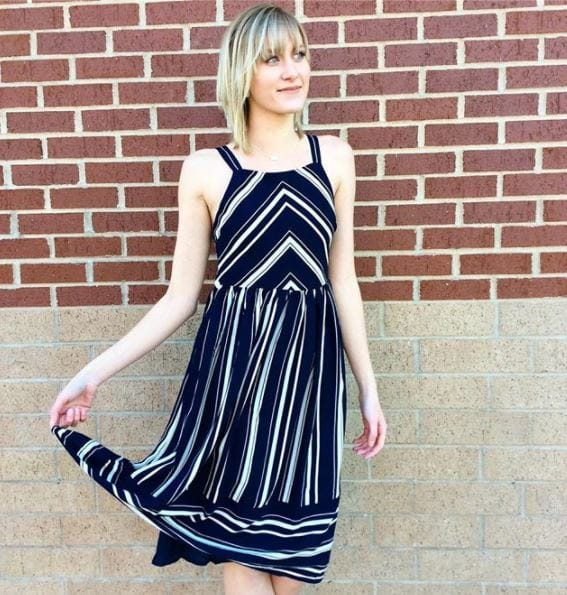 Everly Striped Dress - Edwardsville