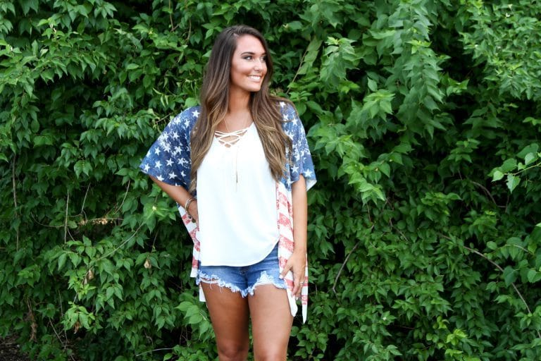 American Flag Apparel for Women
