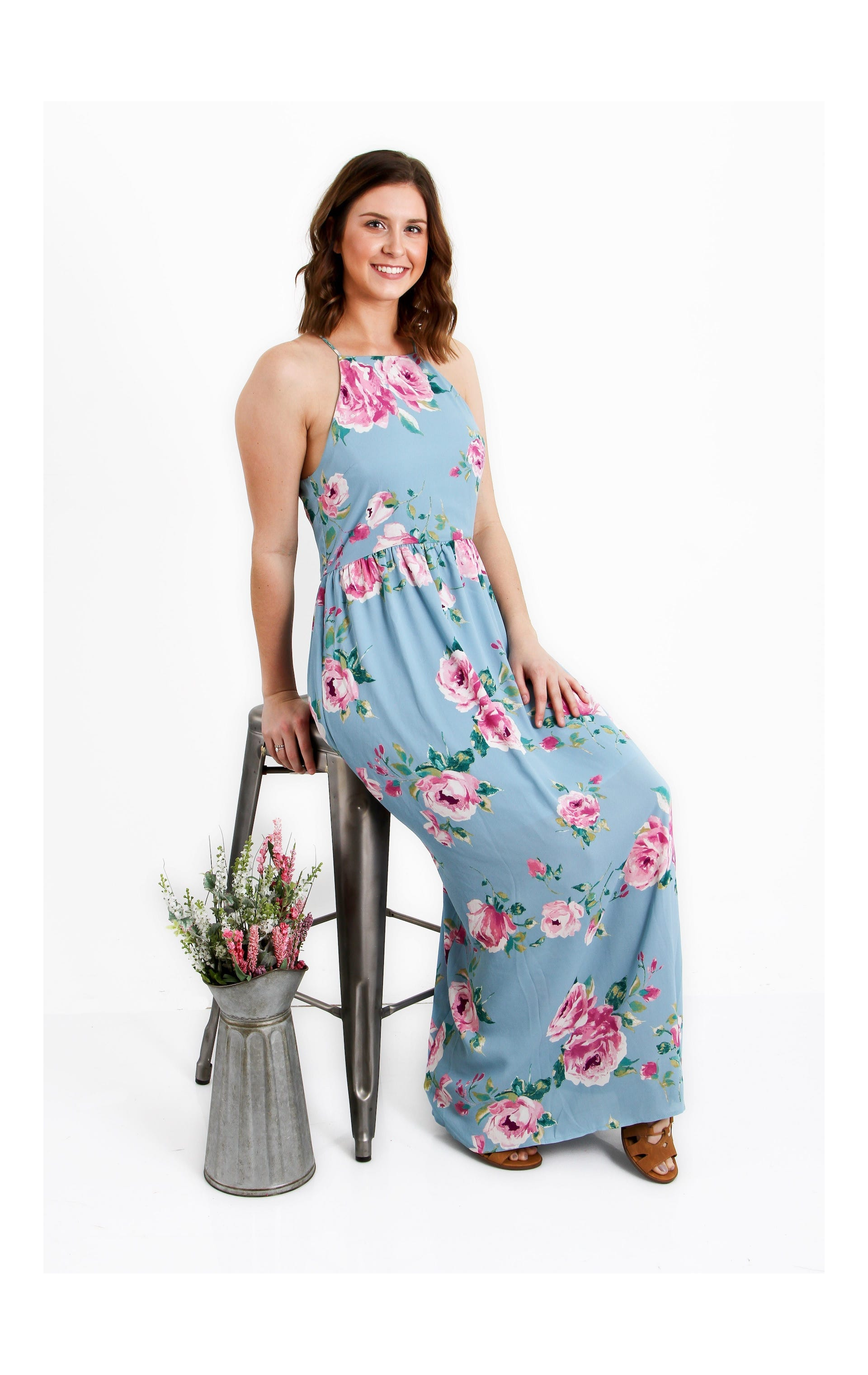 everly clothing floral print dress