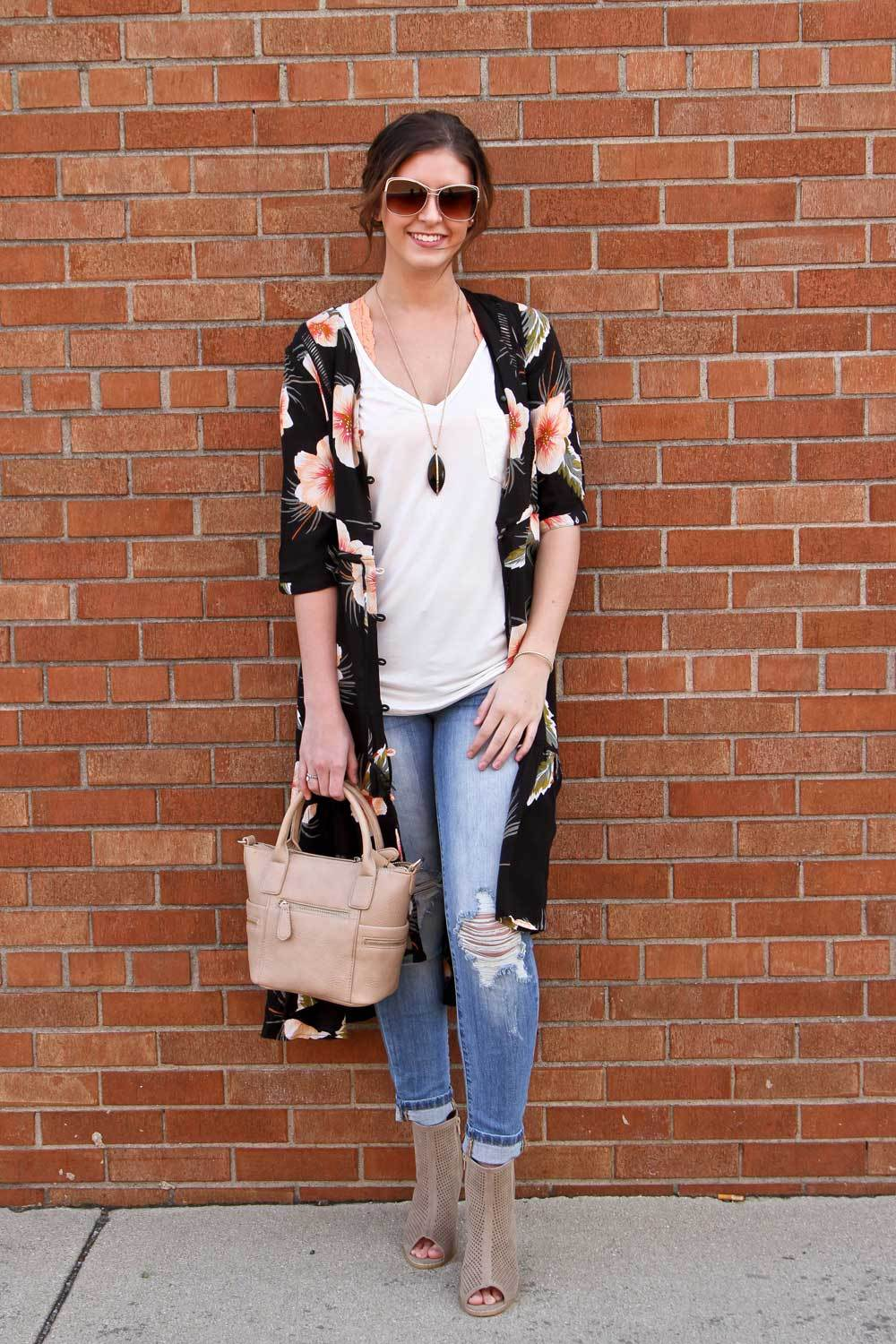 Volcom Floral Duster