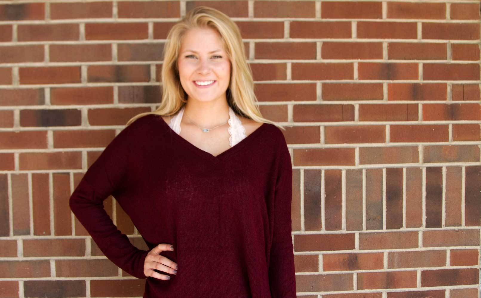 Burgundy Piko with bralette