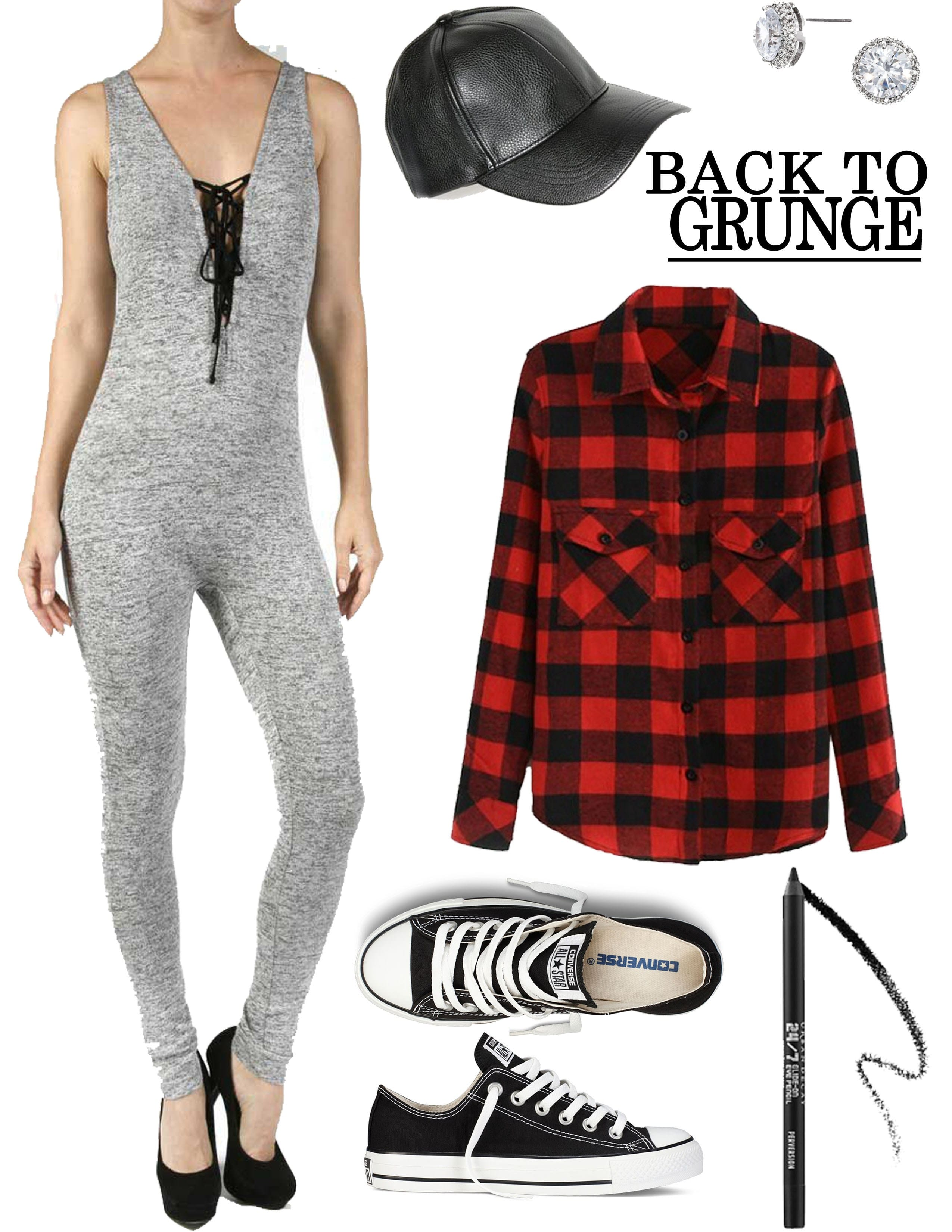 gray jumper outfit, the catsuit trend