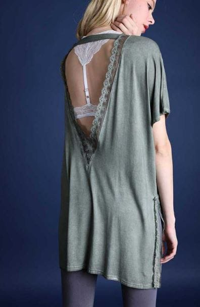 POL wholesale clothing, POL, POL design, Womens tunics, Olive green