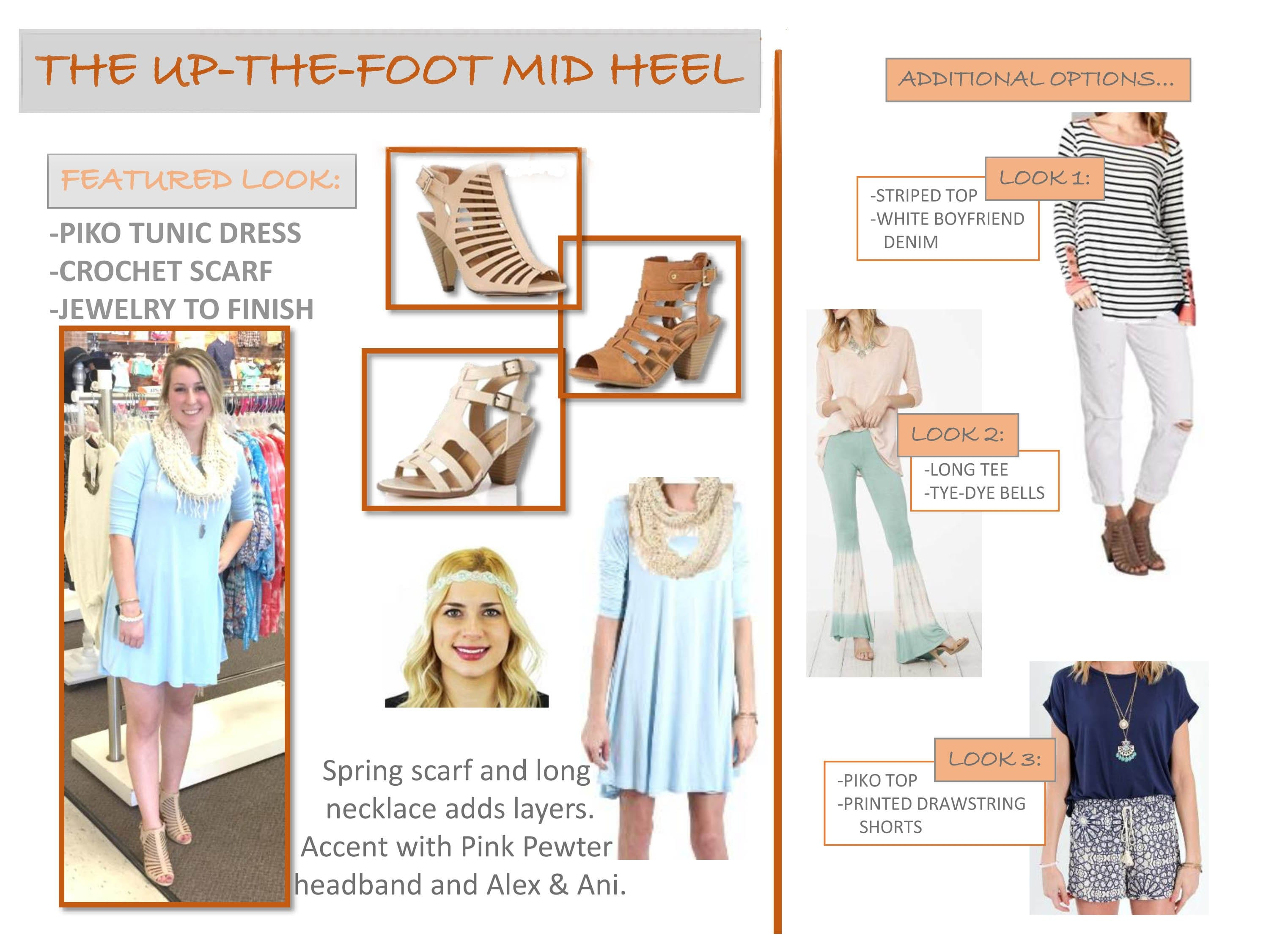 how to wear heeled sandals
