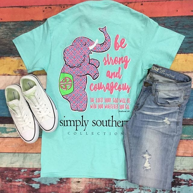 simply southern outfit of the day