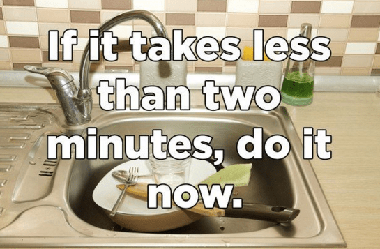 seriously, don't be lazy.