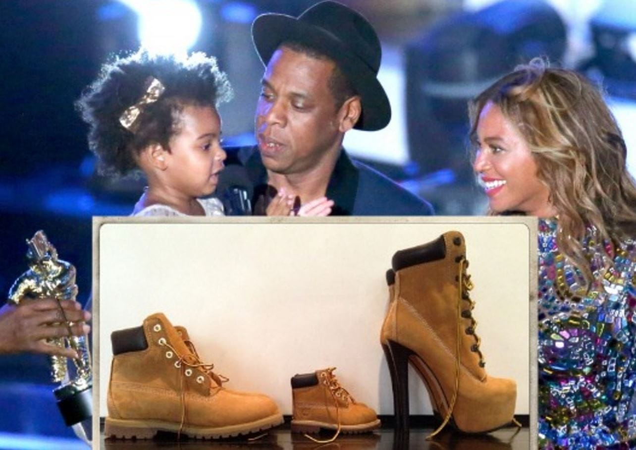 Jay-Z and Family Timberline Boots