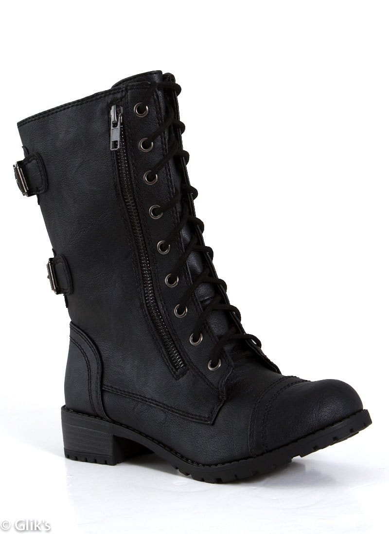 SODA-TALL-COMBAT-BOOT-GOLD-SIDE-ZIP-BLK-DOME-SA-BLK_S