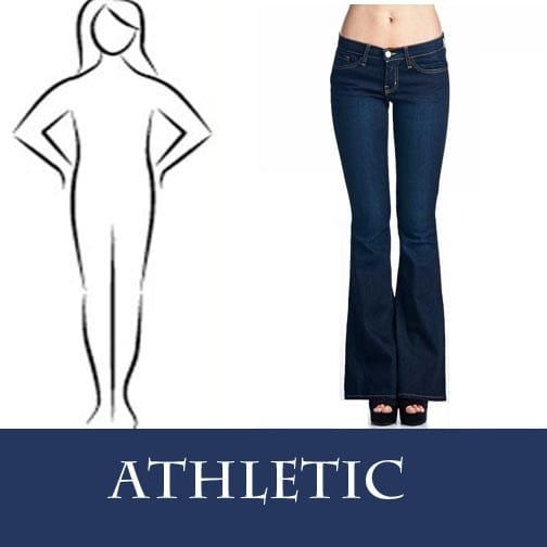 Denim Fit Guide Jeans for Athletic Body Type