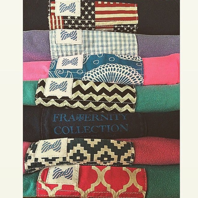 fraternity collection pocket tees