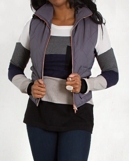 Ways to wear a puffy vest