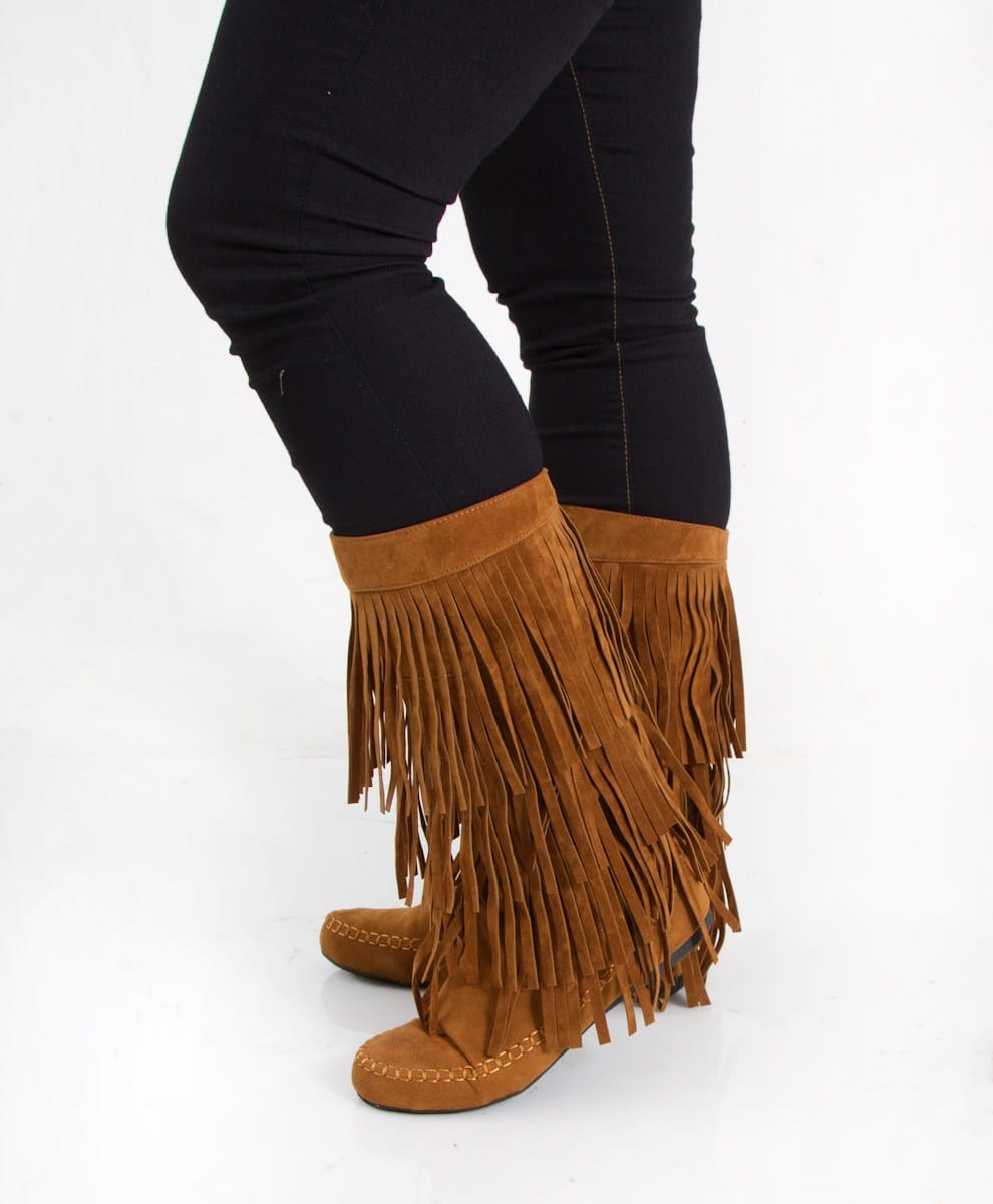fringed mocassin boots boots to wear with skinny jeans