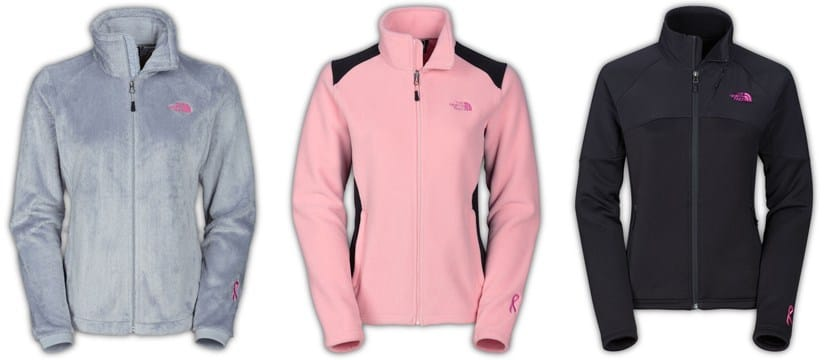The North Face Pink Ribbon Collection