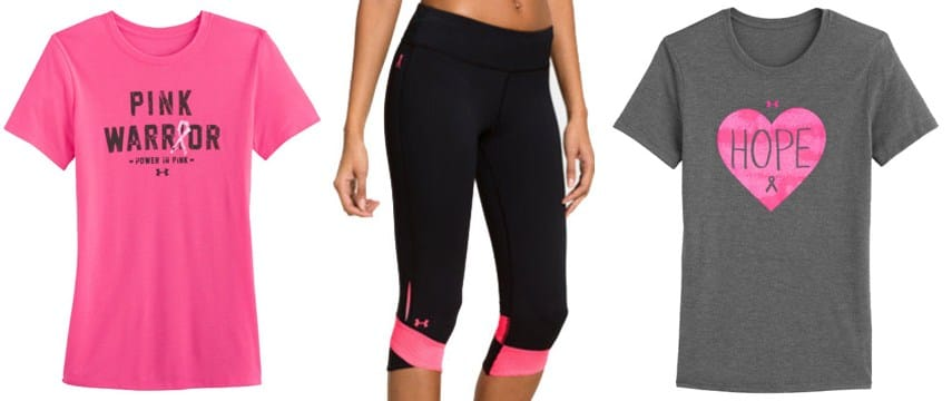 under armour power in pink collection