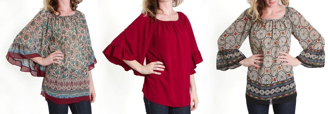 Emma Rose Bell Sleeve Top
