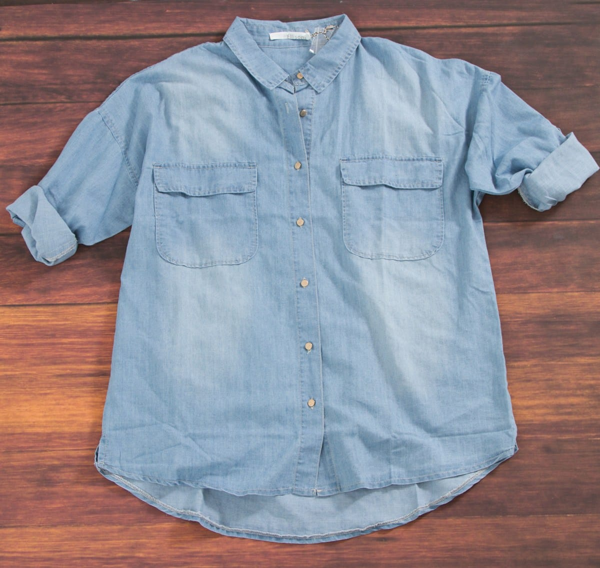 Ellison Chambray Button-Up