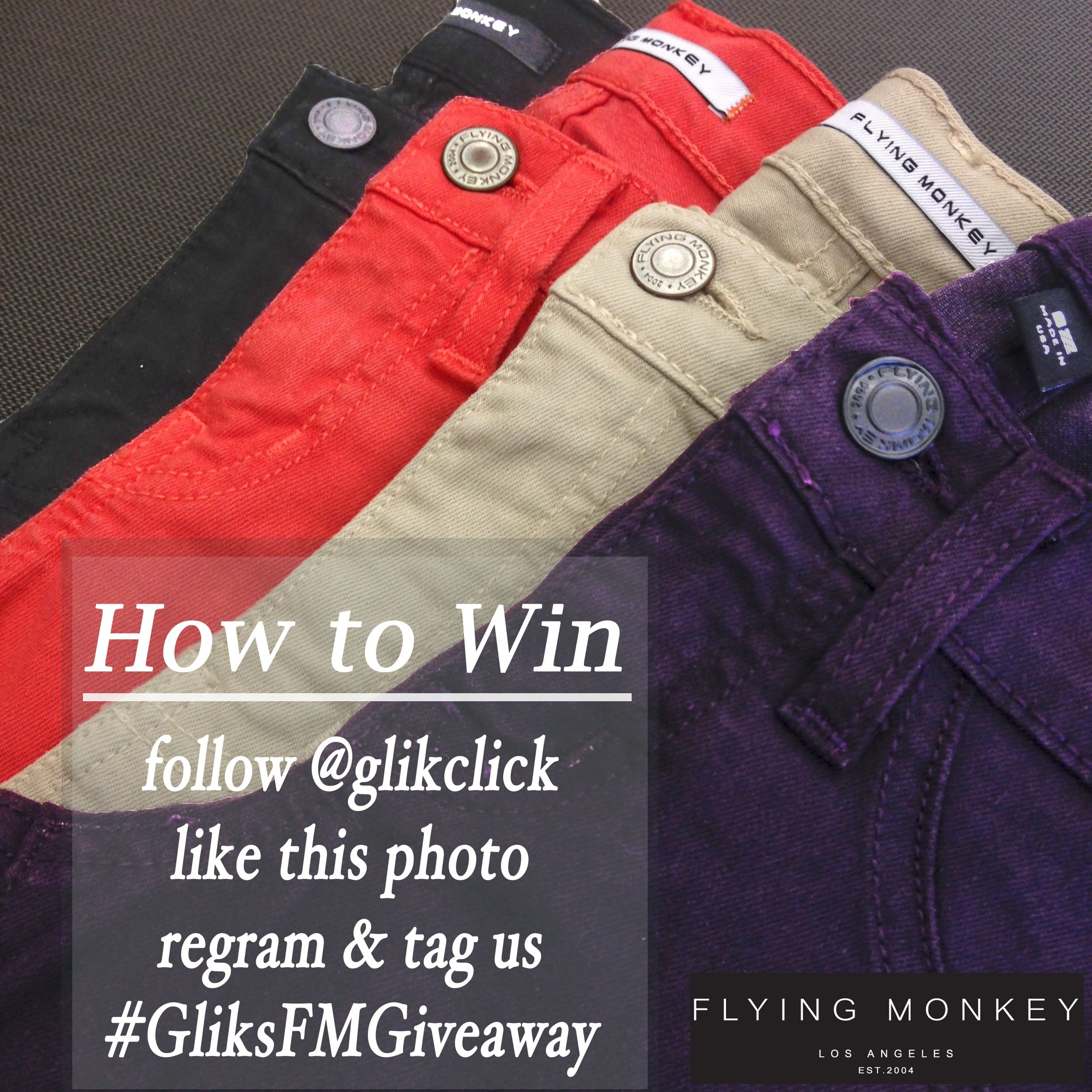 Flying Monkey Jeans Contest Giveaway