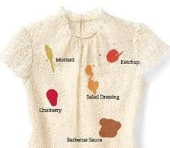 How to get stains out of clothes