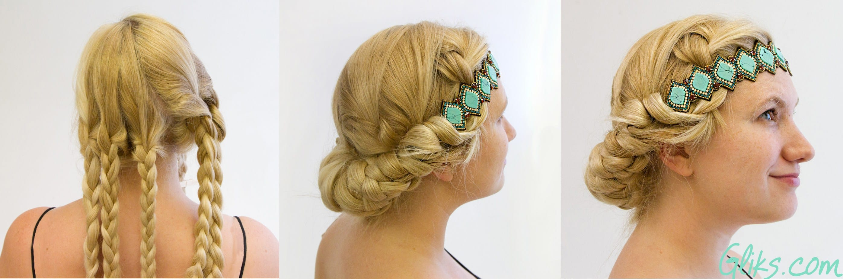 cute-Ways-to-wear-a-headband-with-braids-pink-pewter-amari