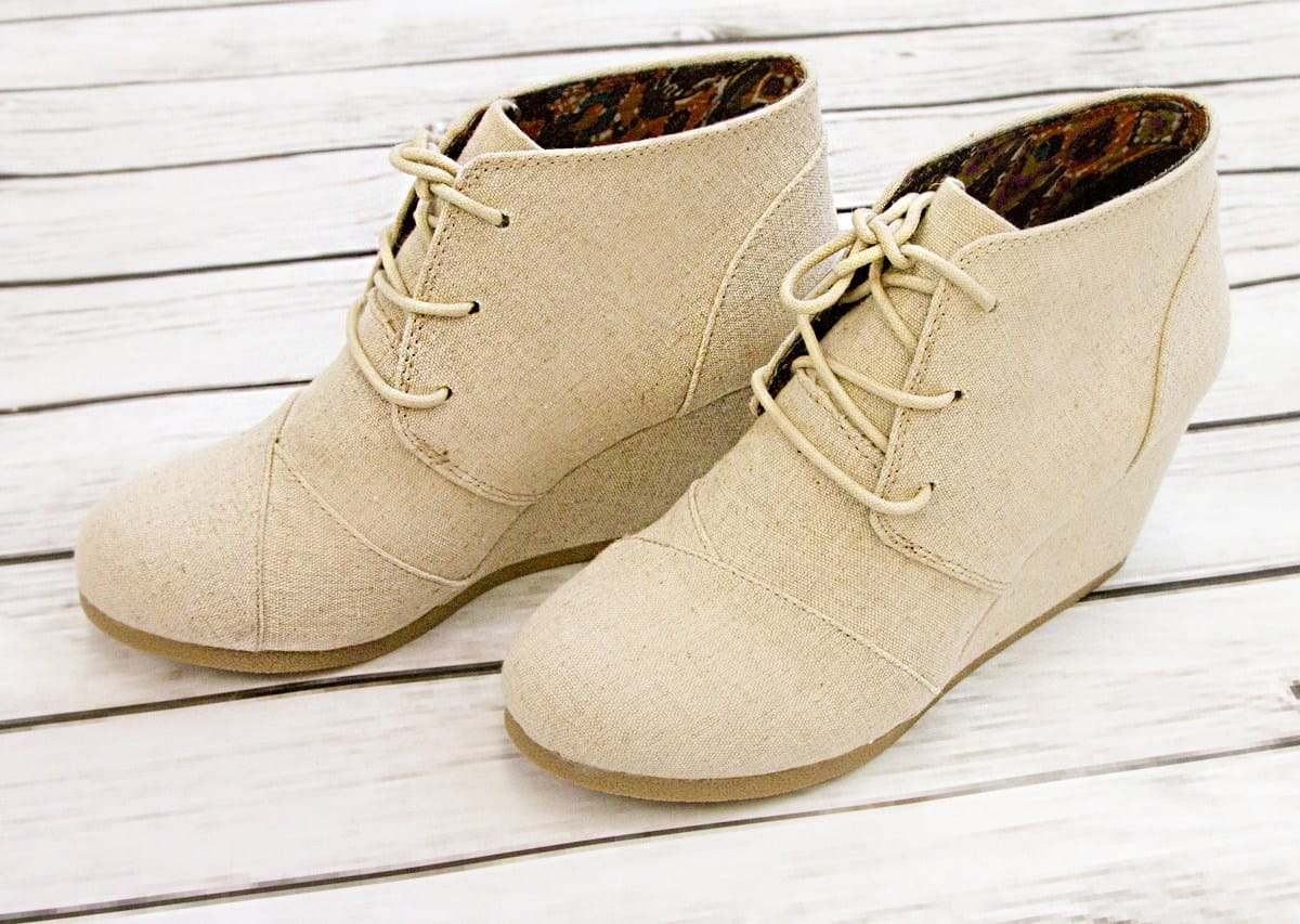 City Classified Desert Wedges