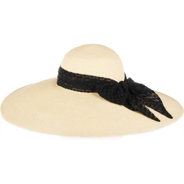 Side Bow Floppy Hat