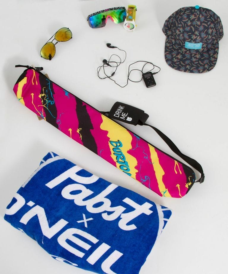 PBR beach towel and accessories