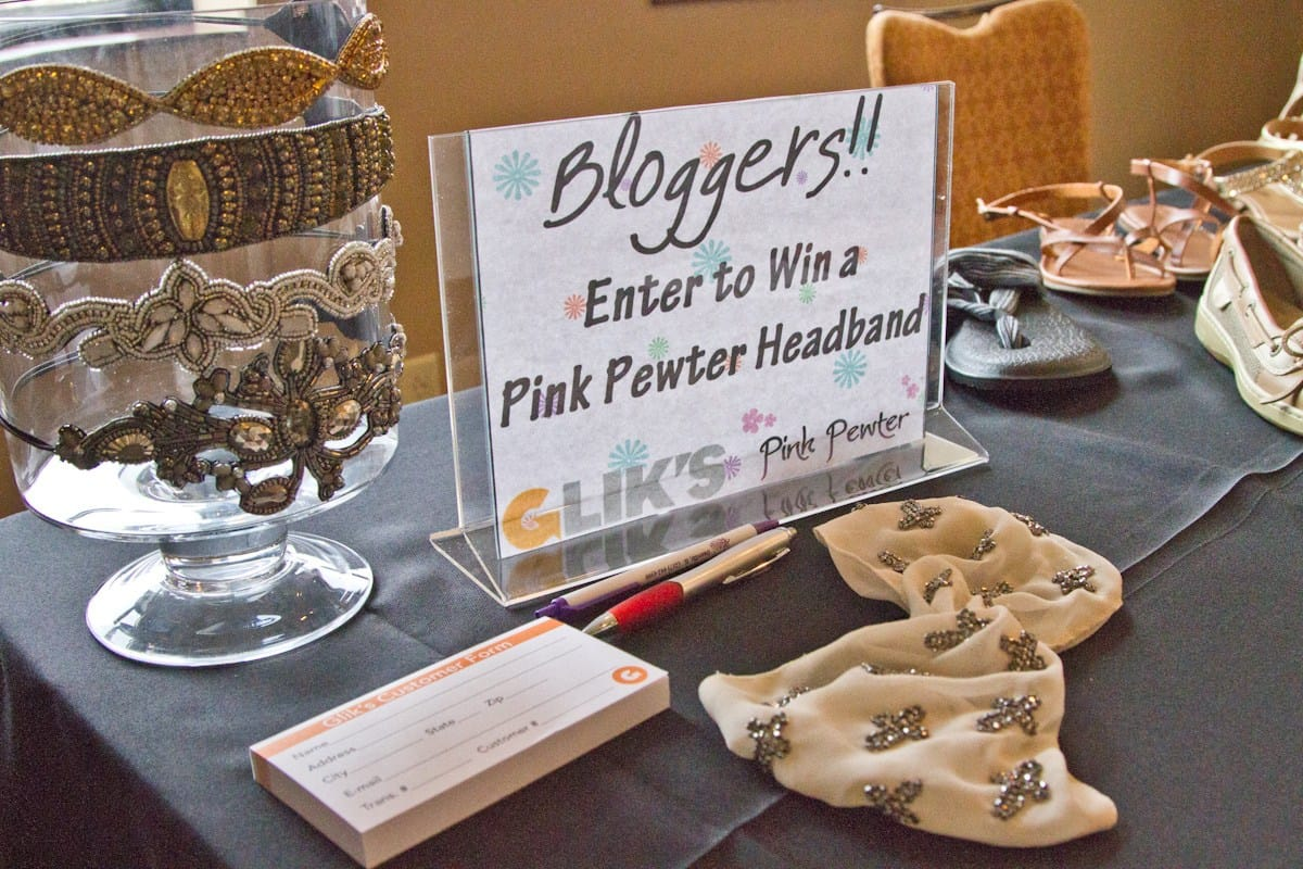 Pink pewter giveaway