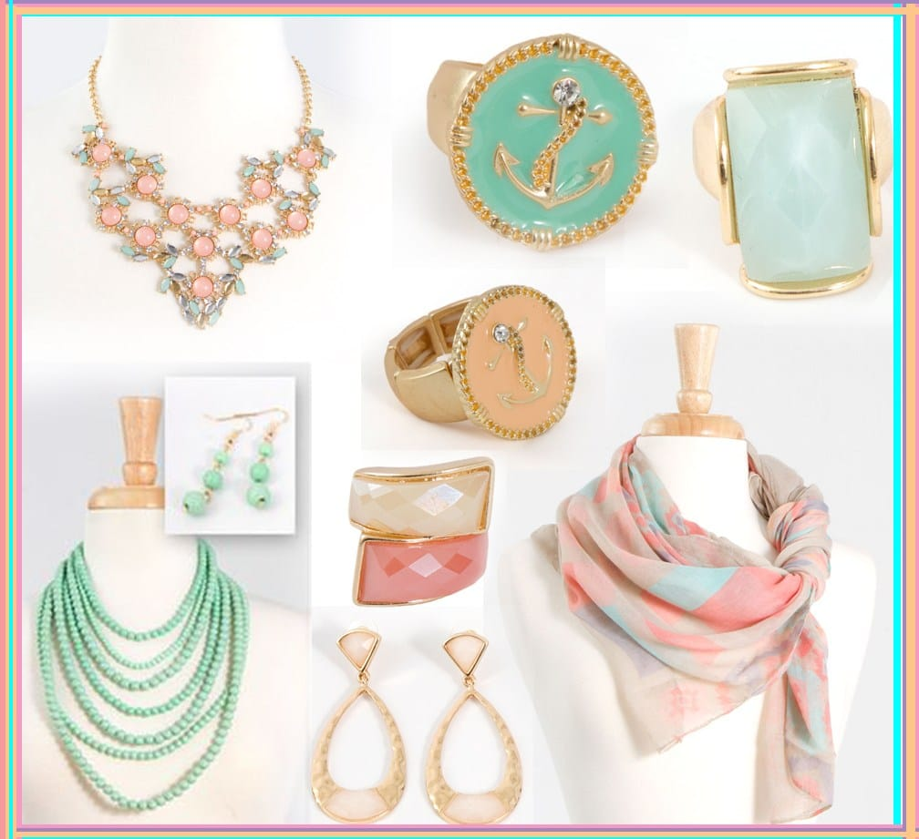 pastel accessories anchor accessories nautical