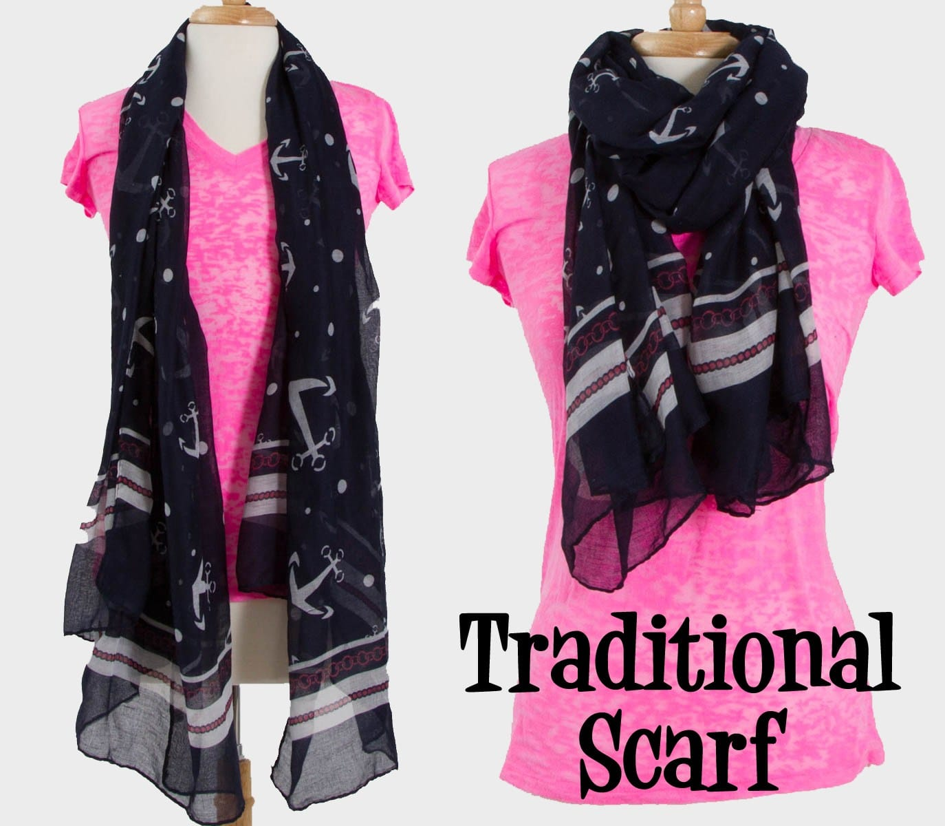 traditional scarf style