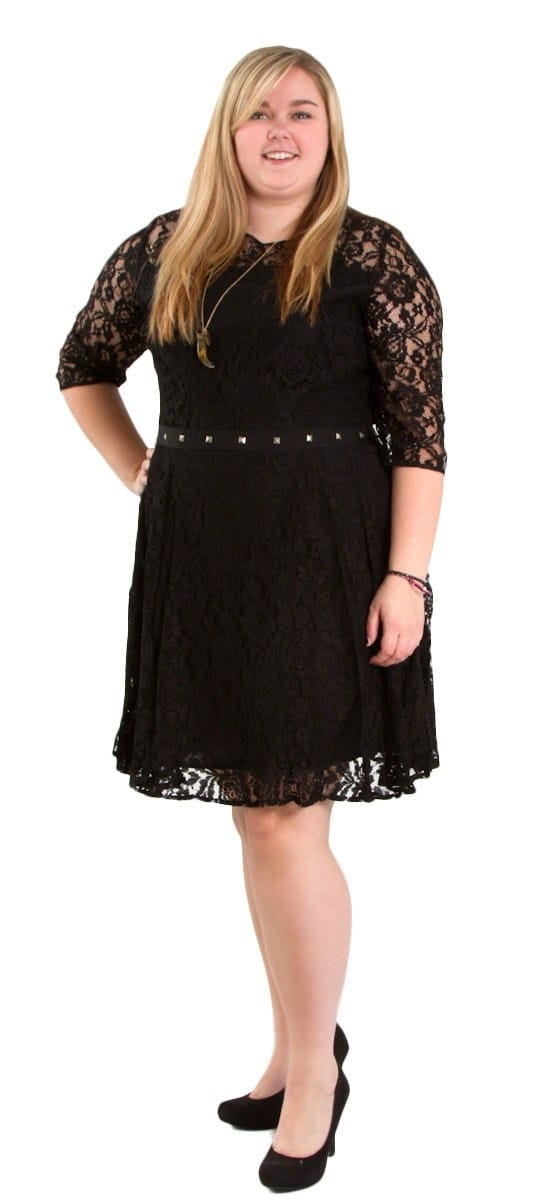 Cassidy Lace Black Dress Jaime by BB Dakota