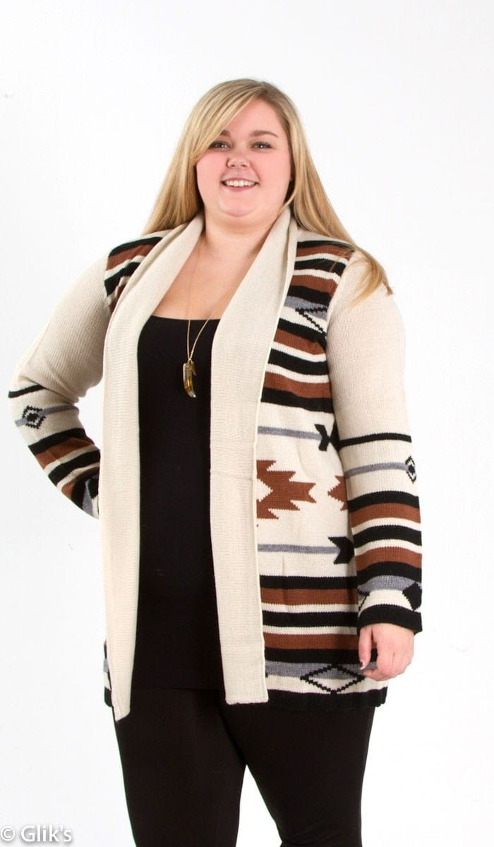 Pippa Aztec Cardigan Jaime by BB Dakota