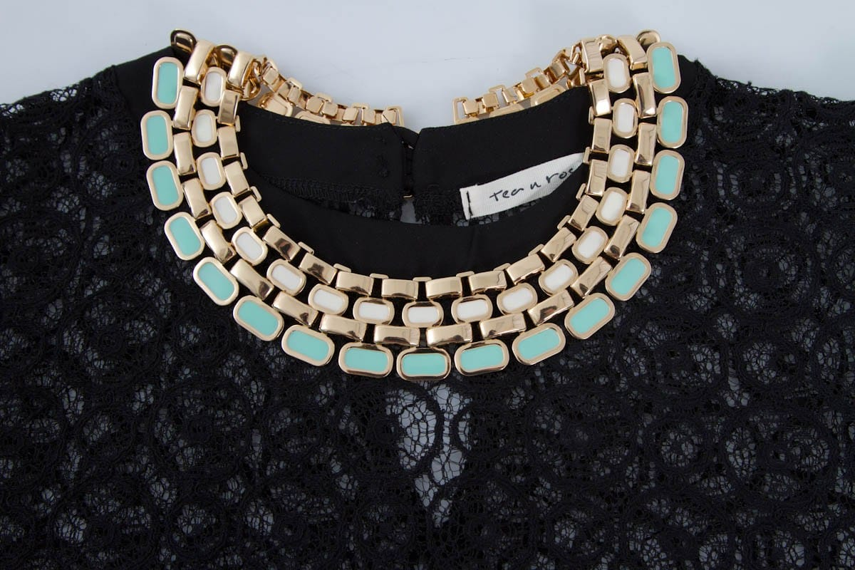 necklace for high neckline