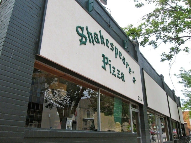 Shakespeare's Pizza in Downtown Columbia, MO