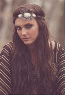Pink-Pewter-piper-headband