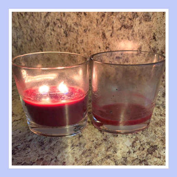 How to Repurpose Candles Blog Pictogram