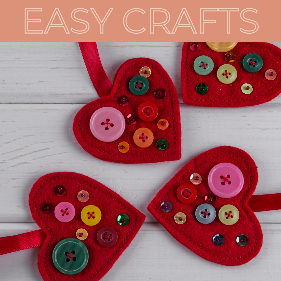 Easy Crafts for Valentine's Day