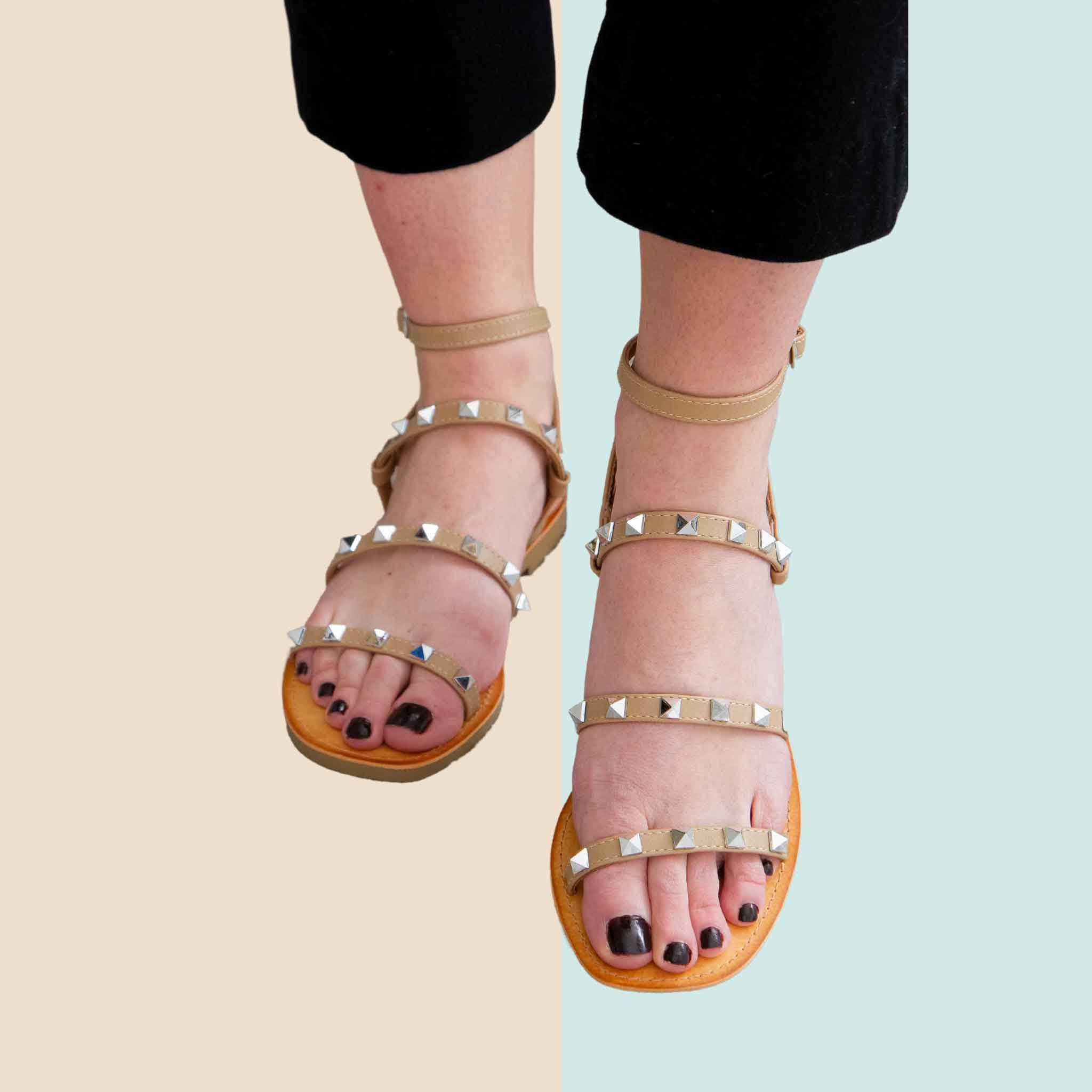 Soda Studded Sandals