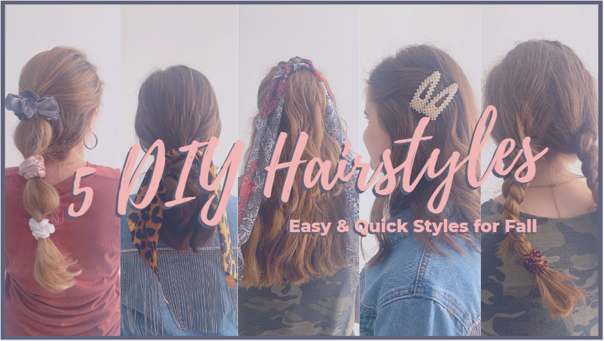 DIY Hairstyles for Fall