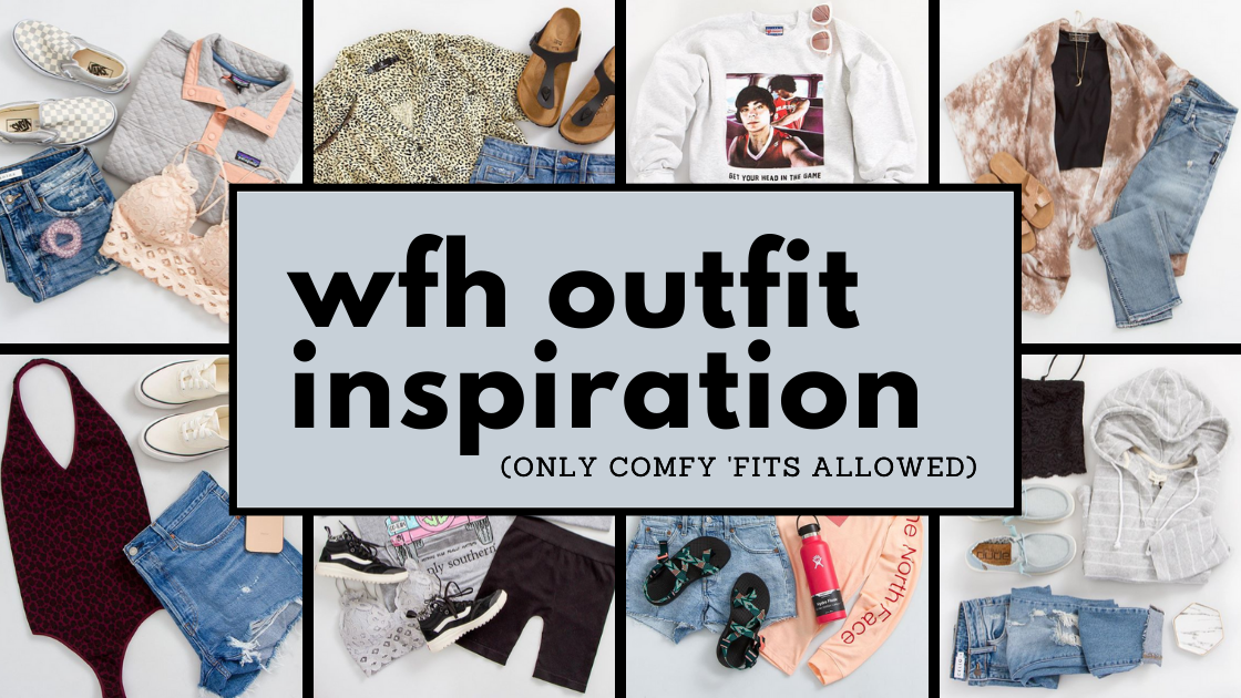 WFH Outfit Inspiration Blog Banner