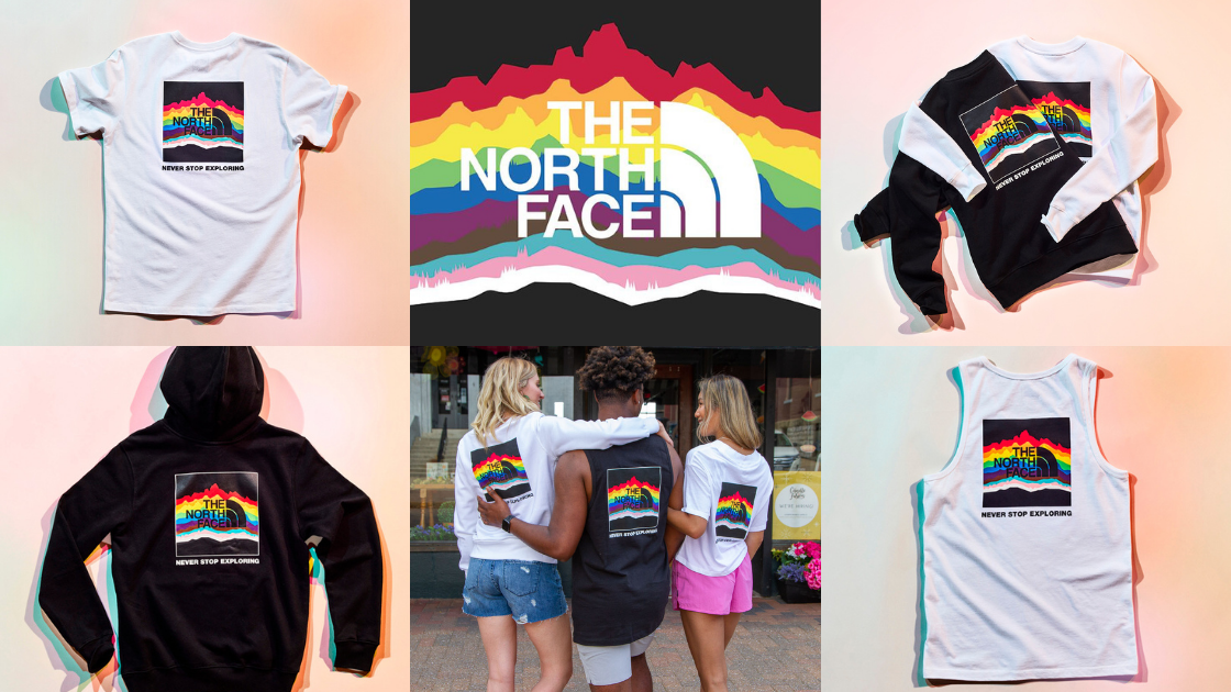 The North Face Pride Collection