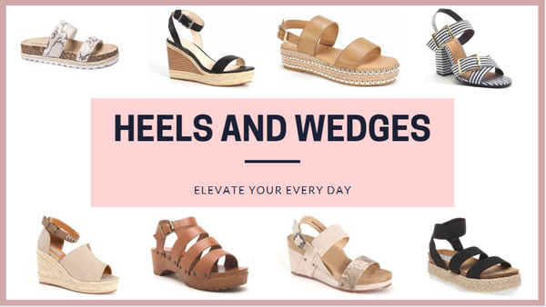 Heels and Wedges for Women