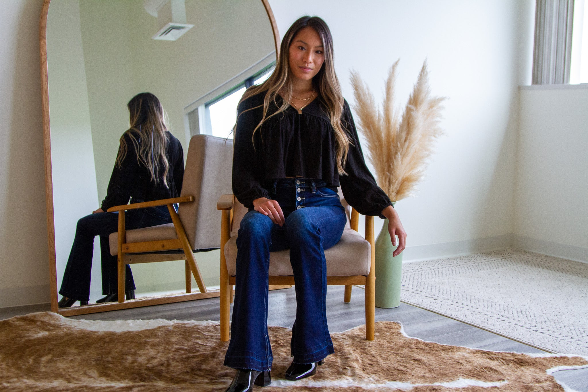 What to Pair with Flare Jeans