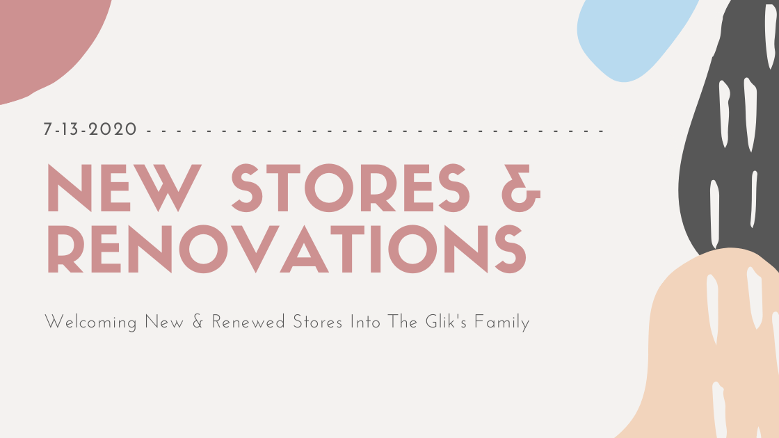 New Stores & Renovations